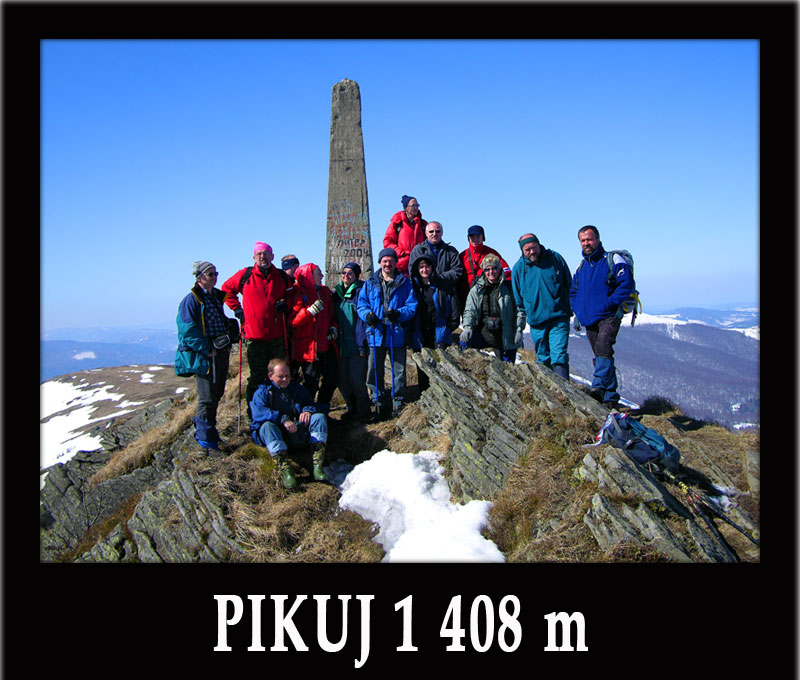 Wycieczki jednodniowe na PIKUJ 1408m - najwyższy szczyt Bieszczad Ukraina.