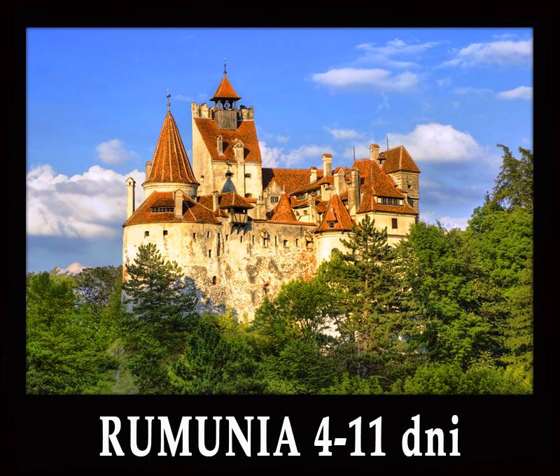 RUMUNIA wycieczki od 4 do 11 dni: Transylwania, Maramuresz, Bukowina, Morze Czarne...