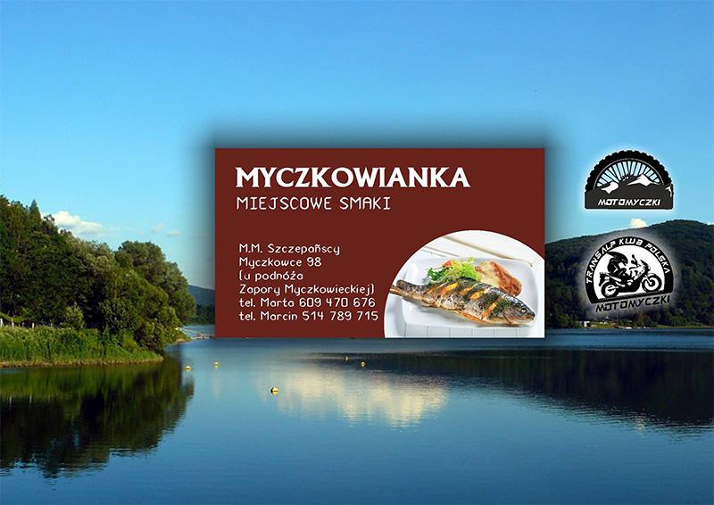 Restauracja MYCZKOWIANKA obok zapory wodnej w Myczkowcach