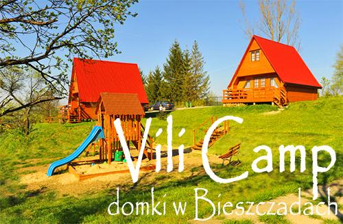 VILI CAMP domki w Bieszczadach w Bereżnicy Wyżnej na szczycie góry