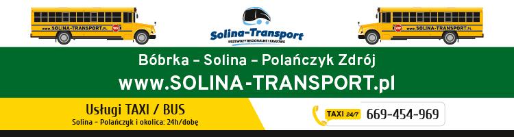 SOLINA TRANSPORT - usługi taksówką na Zalewem Solińskim: Solina, Polańczyk, Bóbrka, Myczkowce, Wołkowyja, Bukowiec, Rajskie, Olchowiec...