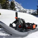 Rakieta TSL 438 UP&DOWN Bieszczady zimą