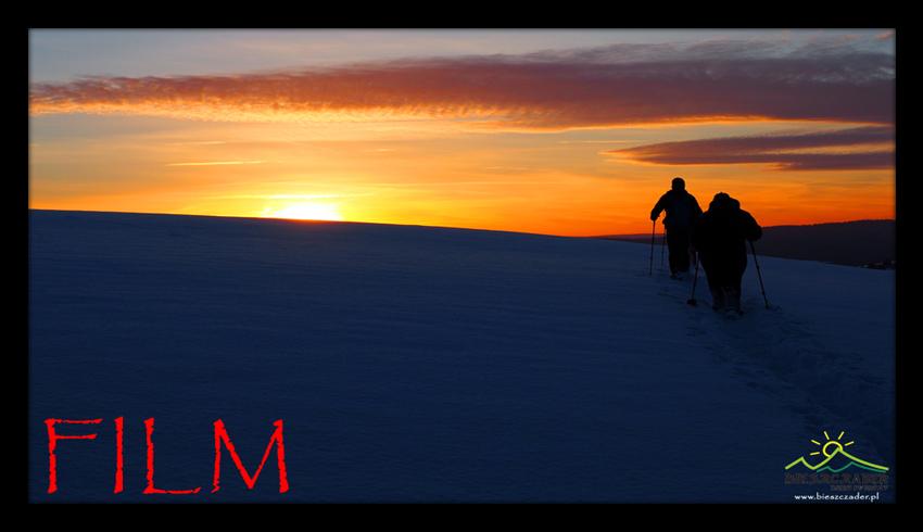 FILM z atrakcjami w Bieszczadach zimą, w tym KULIGIEM z końmi najdłuższą i najciekawszą trasą!