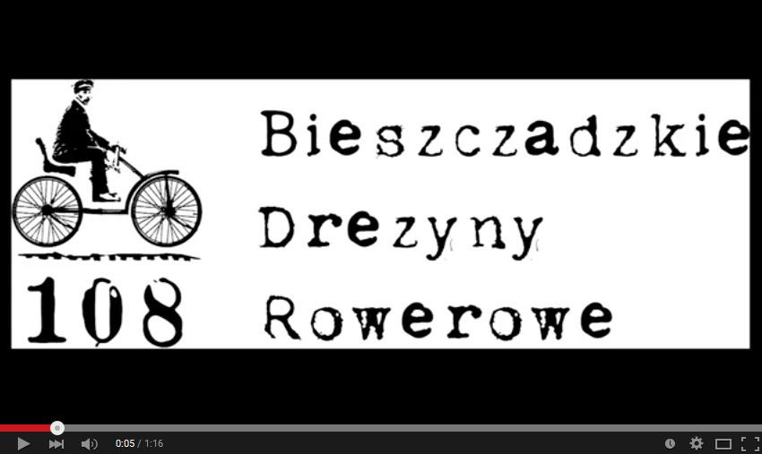 Bieszczadzkie DREZYNY ROWEROWE film promocyjny