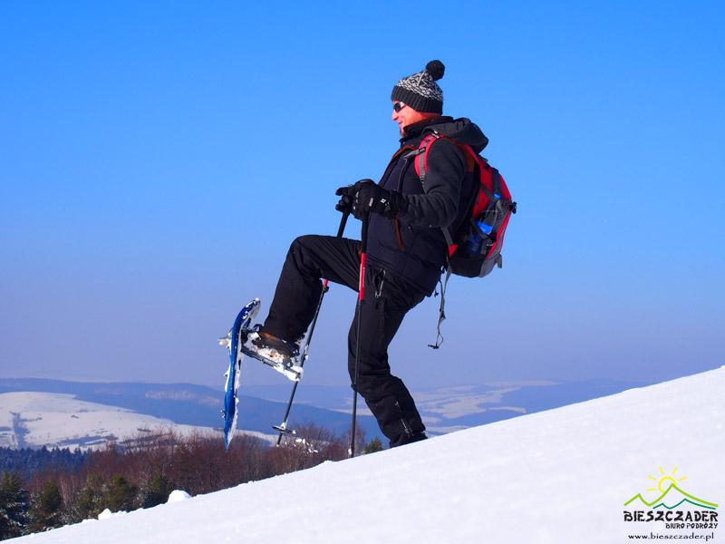 KOLEJ na rakiety śnieżne w Bieszczadach!