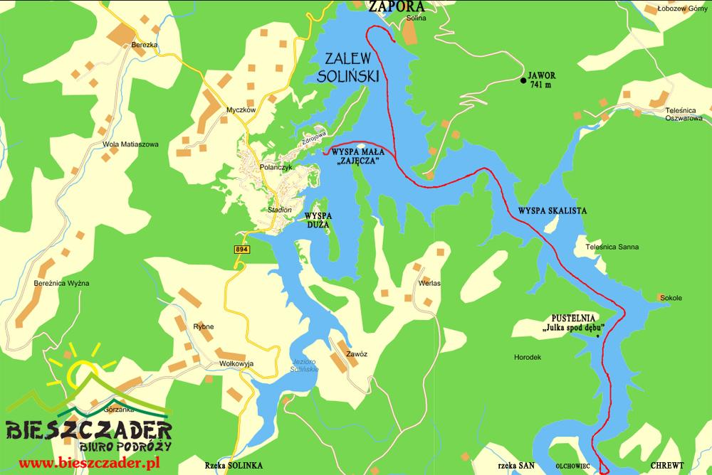 Wodami Rzeki San Najlepszy Produkt Turystyczny Podkarpacia I
