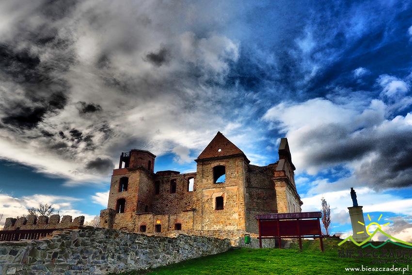 Ruiny klasztoru karmelitów bosych w Zagórzu.