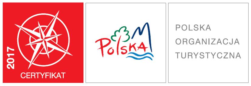 CERTYFIKAT Polskiej Organizacji Turystycznej, który możemy umieszczać, gdyż wycieczka WODAMI rzeki San! została Najlepszym Produktem Turystycznym POLSKI 2017!