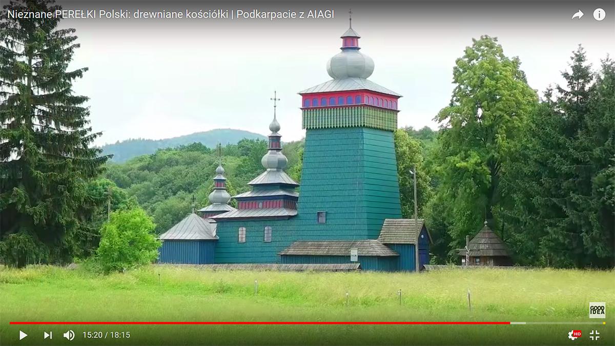 Nieznane PEREŁKI Polski: drewniane kościółki