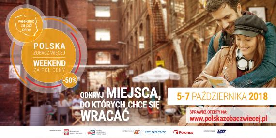 POLSKA ZOBACZ WIĘCEJ – WEEKEND ZA PÓŁ CENY, 5-7.10.2018 Bieszczady