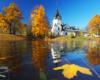 Cerkiew w Równi - jedna z najczęściej fotografowanych świątyń w Bieszczadach.