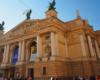 Teatr Opery i Baletu we Lwowie sfotografowany podczas wycieczki jednodniowej z Bieszczad.