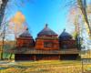 Zagroda żubrów w Mucznem - jedna z najczęściej odwiedzanych atrakcji w Bieszczadach.
