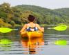 """Spływ kajakami po rzece San... Na wycieczce jednodniowej po Bieszczadach """"WODAMI rzeki San"""" każda z atrakcji jest związana z wodą."""