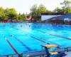 Pełno wymiarowy basen pływacki. Tu woda jest chłodniejsza - idealna do pływania. Z tej atrakcji mało kto korzysta z turystów wybierających się na wycieczkę jednodniową na Węgry ;-)