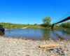 Kładki linowej w Morochowie niestety już nie ma... Została rozebrana na zlecenie Urzędu Miasta i Gminy w Zagórzu przy okazji budowy nowego mostu... Tędy wędrowało setki naszych klientów podziwiając widoki na Bieszczady, Beskid Niski, płynącą pod spodem rzekę Osława...
