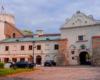Inne ujęcie zamku przemyskiego, w którego wnętrzu mieści się amatorski teatr Fredreum założony w Przemyślu w 1869 roku.