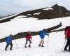 Część przewodników Biura Podróży Bieszczader podczas wycieczki szkoleniowej na Pikuj - najwyższy szczyt Bieszczad.