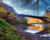 Największy wiadukt ciuchci - bieszczadzkiej kolejki leśnej w rezerwacie przyrody Łokieć w Duszatynie. Wiadukt ciuchci został wybudowany nad rzeką Osława.