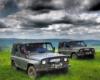 W pochmurny dzień na pograniczu Bieszczad i Beskidu Niskiego również może być pięknie. Już my zadbamy o atrakcje dla Was na Wyprawie samochodami UAZ :-)