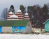 Cerkiew w Matkowie z dachem brogowym wielokrotnie łamanym na każdym robi wrażenie. Docenioną ją również wpisując na Listę Światowego Dziedzictwa UNESCO. Obok jest sprzedawany pyszny miód...