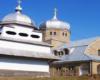 Murowana cerkiew w Boryni z początku XX wieku. W tej miejscowości był kręcony serial kryminalny Wataha...