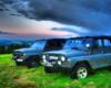 W pochmurny dzień w Bieszczadach również potrafimy zapewnić atrakcje, a te są najlepsze na Wyprawie UAZ-ami z Biurem Podróży Bieszczader :-)