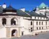 Dziedziniec zamku w Krasiczynie zwiedzany na wycieczce jednodniowej z Biurem Podróży Bieszczader :-)