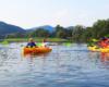 Spływ kajakami po rzece San - największej rzece Bieszczad - to najlepszy pomysł na relaks połączony z aktywnością fizyczną i podziwianiem pięknych widoków Bieszczad i Pogórza Przemyskiego. Ktoś chętny na taką wycieczkę jednodniową po Bieszczadach?