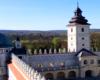 Widok z baszty szlacheckiej na basztę boską i wieżę zegarową na zamku w Krasiczynie. W tej miejscowości powstała autentyczna historia serialu TVP Plebania! :-)