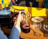 Biuro Podróży Bieszczader wymyśliło dwu godzinne rejsy statkiem połączone z degustacją aż 5 gatunków win. Do tego opowieści przewodnika o Bieszczadach...