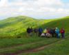 Jesteśmy na paśmie Pikuja. Teraz tylko 3 godziny wędrówki i zdobędziemy najwyższą górę Bieszczad! ;-)