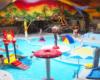 Na basenach Aquarius w Sosto Furdo / Sóstófürdő jest mnóstwo atrakcji dla najmniejszych dzieci. Znacznie więcej niż na basenach Burgalofurdo w Miszkolcu!