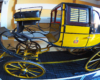 Ten powóz jeździł w Poczcie Polskiej - taki niesamowity eksponat jest w wozownik Zamku w Łańcucie. Opowiadamy o tym na wycieczce jednodniowej...