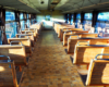 Wygląd całorocznego wagonu, którym można podróżować koleją wąskotorową Pogórzanin na wycieczce jednodniowej Kolej Na Łańcut.