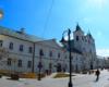 Kościół Rzymskokatolicki pw. Świętego Krzyża przy najbardziej reprezentacyjnej ulicy Rzeszowa, czyli 3 maja - Paniadze. Tędy wędrujemy z przewodnikiem w stronę Zamku Lubomirskich.