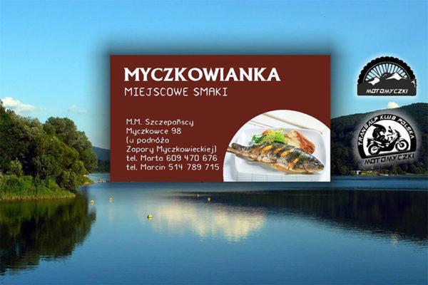 Restauracja MYCZKOWIANKA - smacznie i tanio obok zapory wodnej w Myczkowcach.