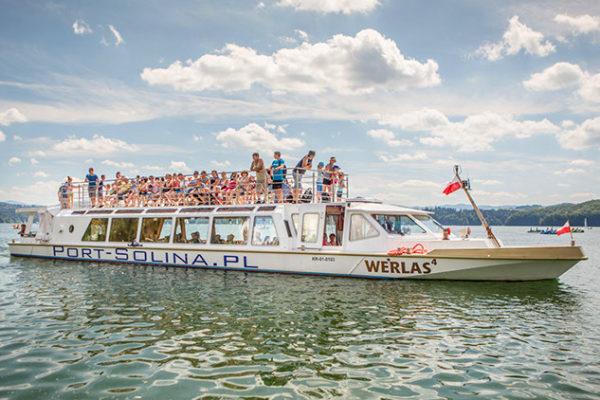 PORT SOLINA - najlepsze rejsy statkami po Zalewie Solińskim z Soliny najbliżej od zapory wodnej w Bieszczadach