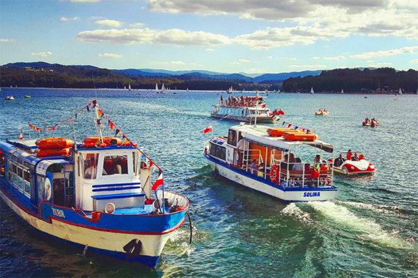 SOLINA - Ośrodek Usług Wodnych Biała Flota