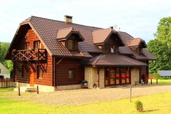 STRZEBOWISKA - Pensjonat Borsuczyna z widokiem na Połoninę Wetlińską