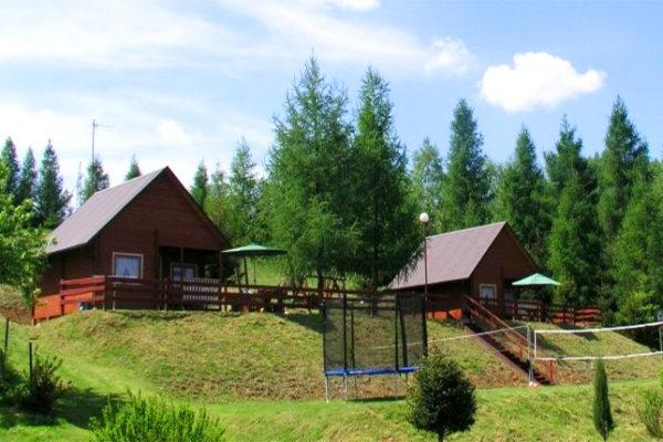 UHERCE MINERALNE - domki Modrzewiowe Wzgórze