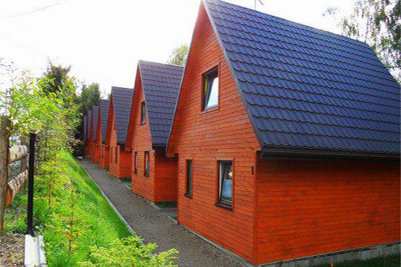WOLA MATIASZOWA - komfortowe domki Matiaszówka z prywatnem stawem kąpielowym