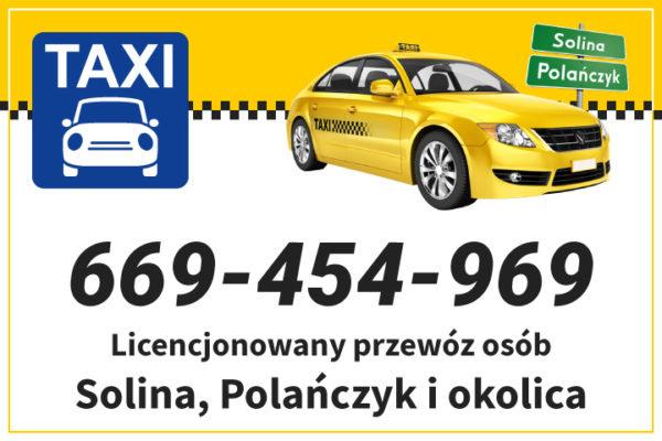 Solina, Polańczyk, Bóbrka, Myczków TAXI i wynajem busów oraz autokaru