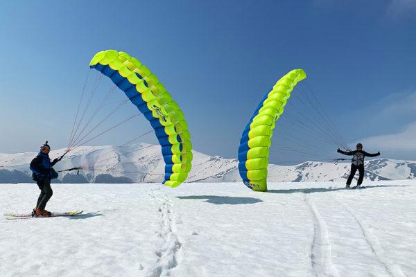 SnowGliding na Borżawie - rekordy świata