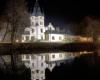 Bieszczady Olszanica Pałac - jedna z piękniejszych atrakcji przy Wielkiej Obwodnicy Bieszczadzkiej.