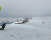 Mgła na szczycie pasma Borżawa powoli ustępuje i można rozpocząć SnowGliding! :-)