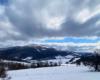 Chmury nad Połoniną Caryńską - zdjęcie wykonane podczas wycieczki Wielką Obwodnicą Bieszczadzką.