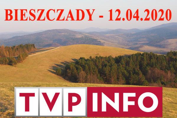 Telewizja TVP INFO w Bieszczadach z Biurem Podróży Bieszczader pokazującym najważniejsze atrakcje Podkarpacia.