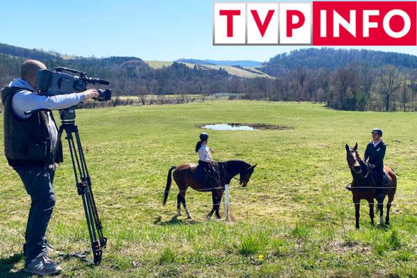 TVP INFO za pomocą redaktorów z TVP RZESZÓW na pograniczu Bieszczad i Beskidu Niskiego