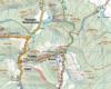 Mapa Beskidu Niskiego krakowskiego wydawnictwa Compass z przedstawieniem największych atrakcji Beskidu Niskiego wokół Rudawki Rymanowskiej.